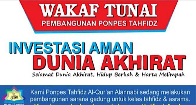 Wakaf Buat Penghafal Al-Quran Anak Yatim Dhuafa