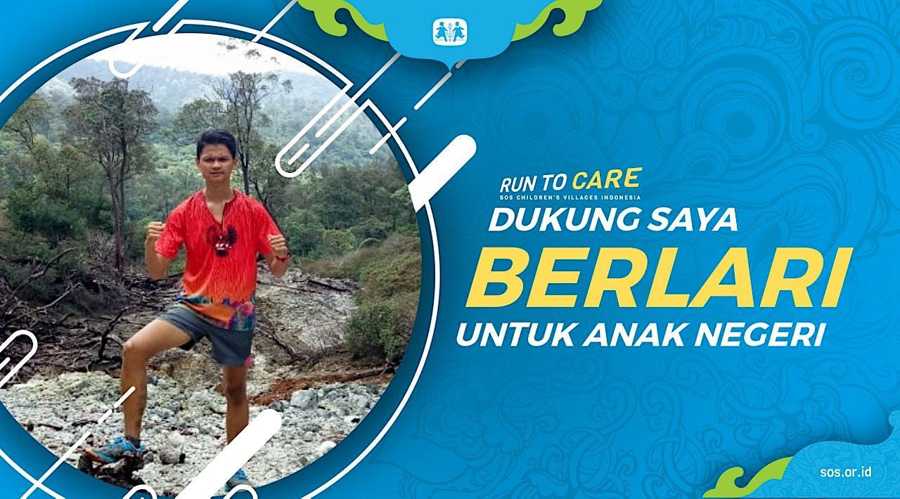 Demas berlari 150KM untuk Mimpi Anak Indonesia
