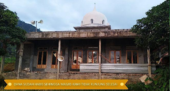 Sedekah Jariyah Bantu Bangun Kembali Masjid Jami