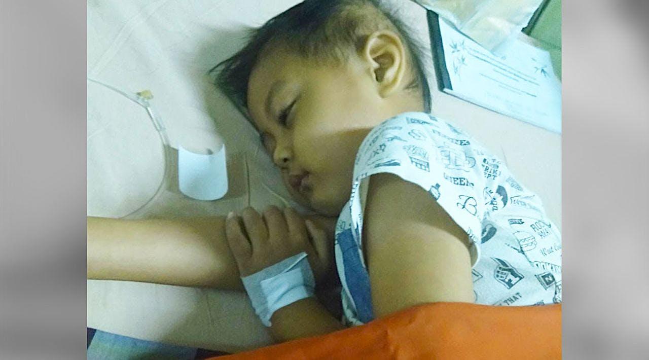 Bantu Azzam Melawan Penyakit Leukimianya