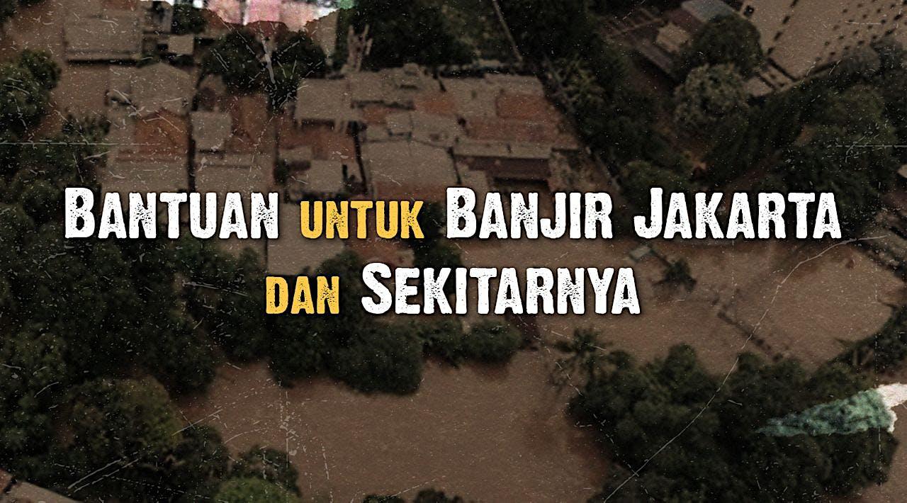 Bantuan untuk Banjir Jakarta
