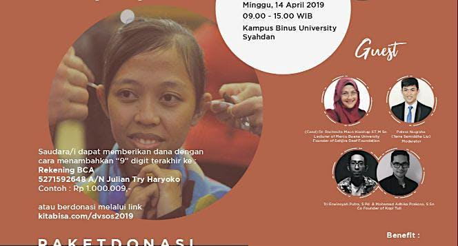 Donasi Alat Bantu Dengar untuk Teman-Teman Tuli
