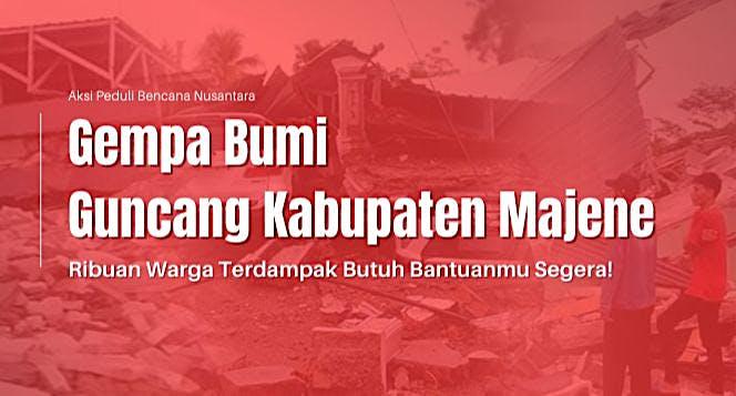 Sedekah Rutin Bantu Korban Gempa