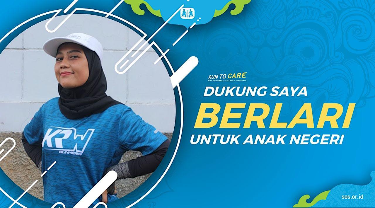 Fitria berlari 150KM untuk Mimpi Anak Indonesia