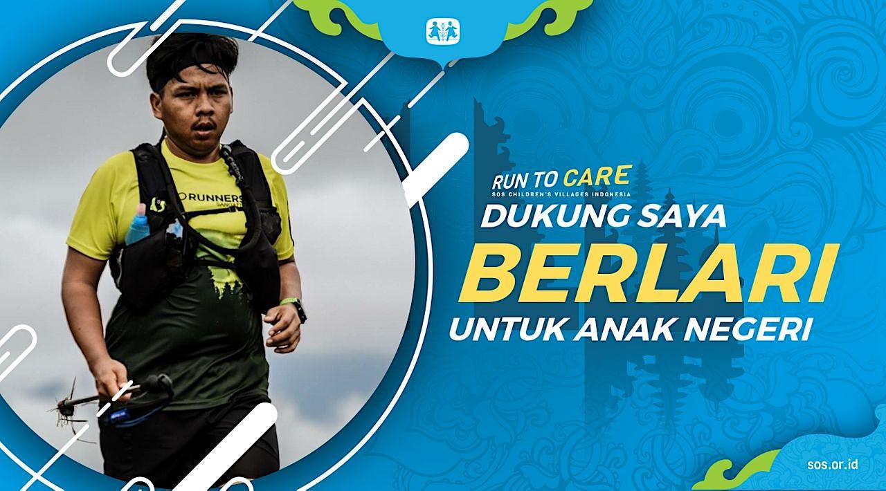 Marhayuddin berlari 150KM untuk Anak Indonesia