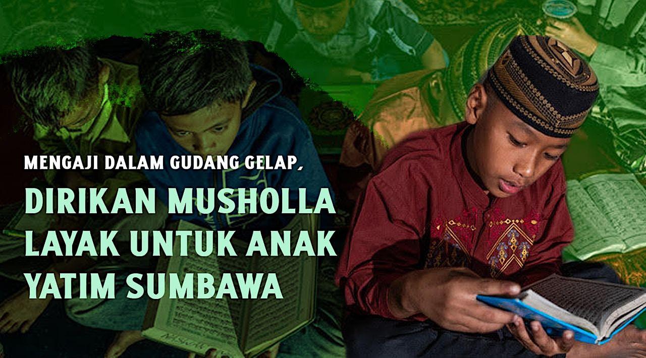 Dirikan Musholla, Cetak Yatim Penghafal Al-Quran