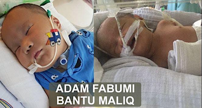 Adam Bantu Maliq keluar dari NICU