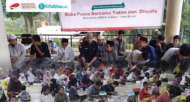Paket Berbuka Puasa untuk 600 Santri Yatim Dhuafa