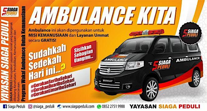 Ambulance kemanusiaan untuk ummat