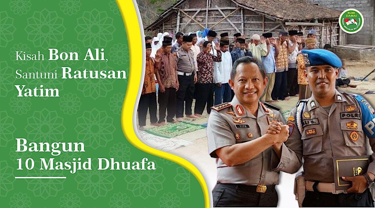 Dukung Pak Polisi Bangun Masjid Pelosok Yogyakarta