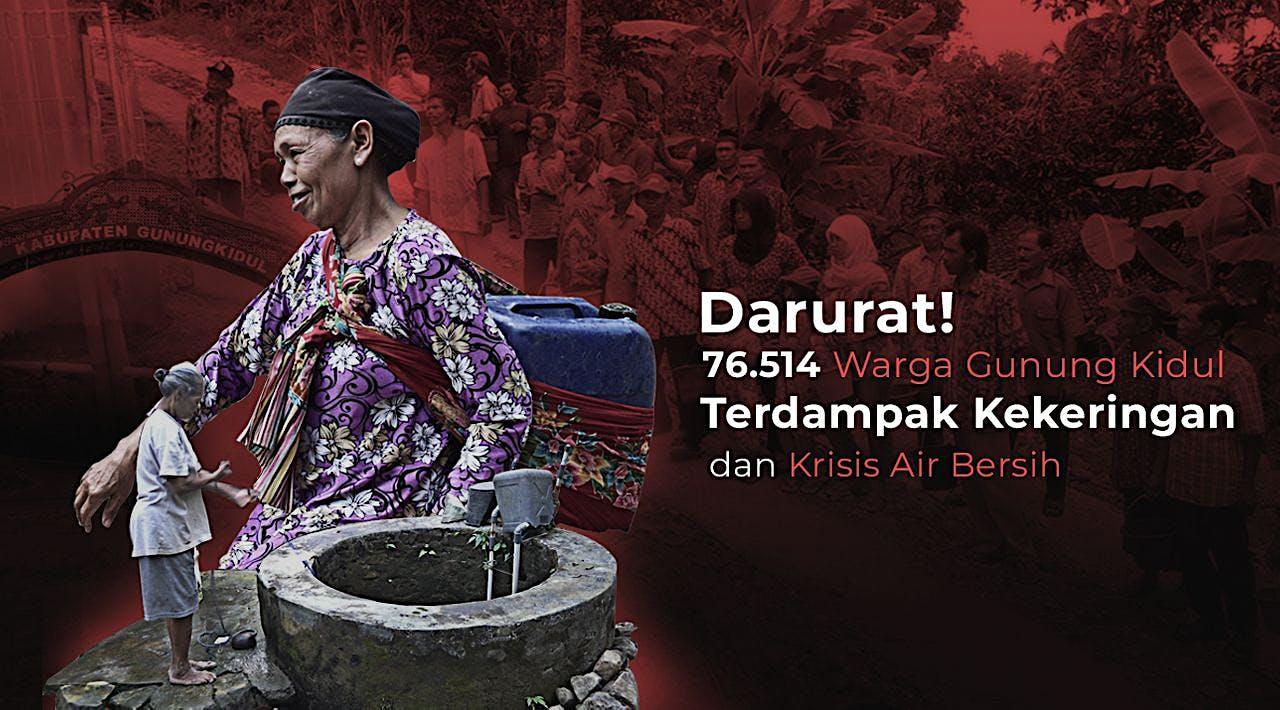Bersama Clara Bantu Air Bersih untuk Gunungkidul