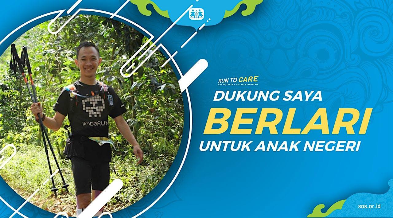 Eko Putra berlari 150KM untuk Mimpi Anak Indonesia