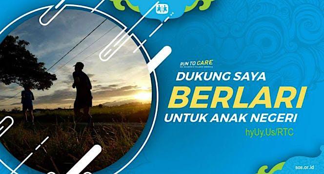 Wahyu berlari 150KM untuk Mimpi Anak Indonesia