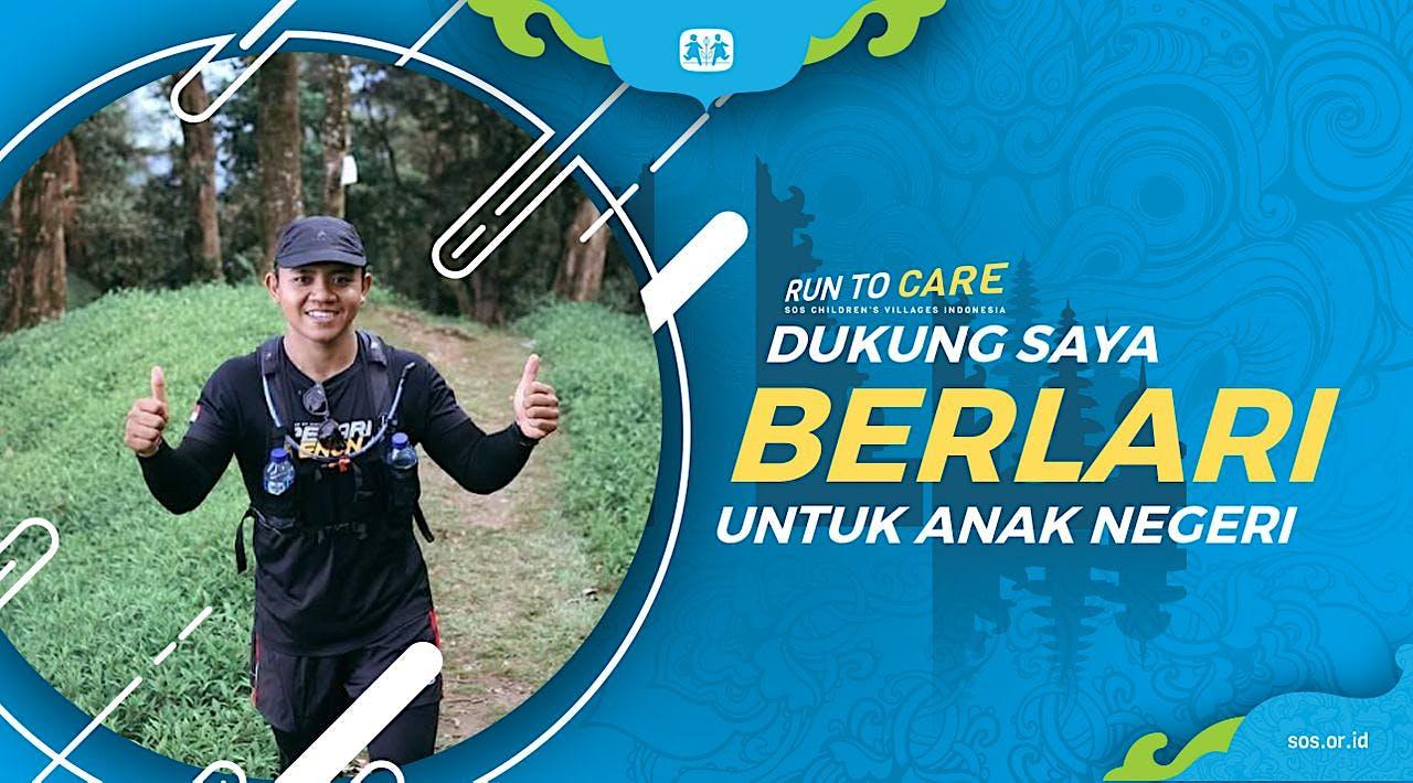 Komang Y Berlari 150KM untuk Mimpi Anak Indonesia