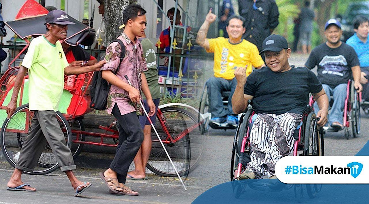 Bantu Ratusan Disabilitas Lanjutkan Hidup