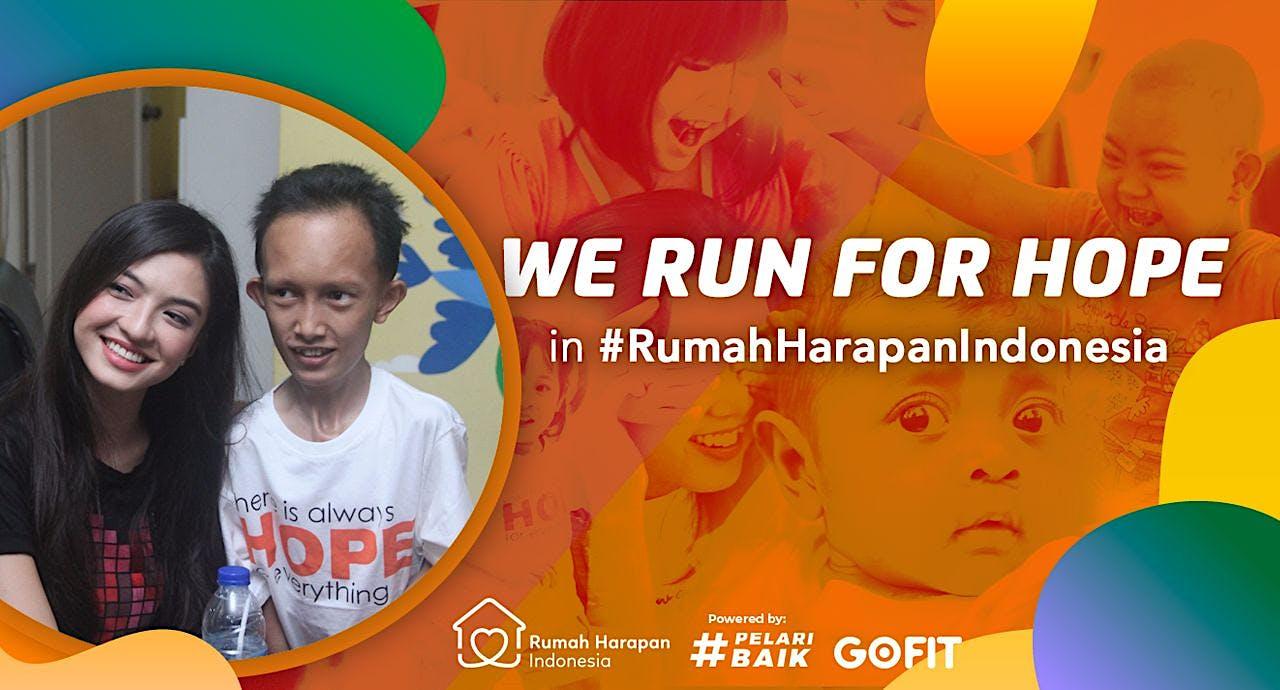 Raline Shah & #SuperHeroRunners Berlari untuk RHI