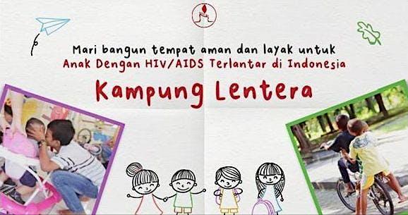 Bersama Pak Puger Bantu Anak Dengan HIV/AIDS