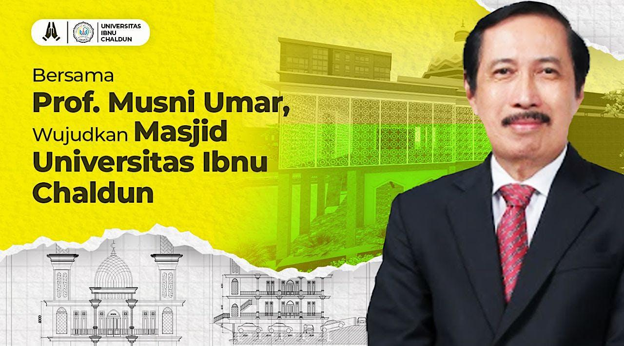 Pembangunan Masjid Universitas Ibnu Chaldun