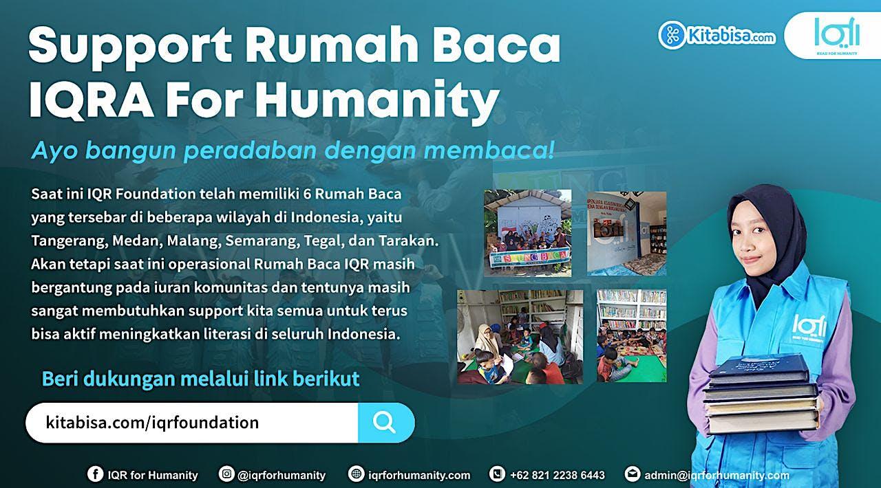 Support Rumah Baca Seluruh Indonesia!