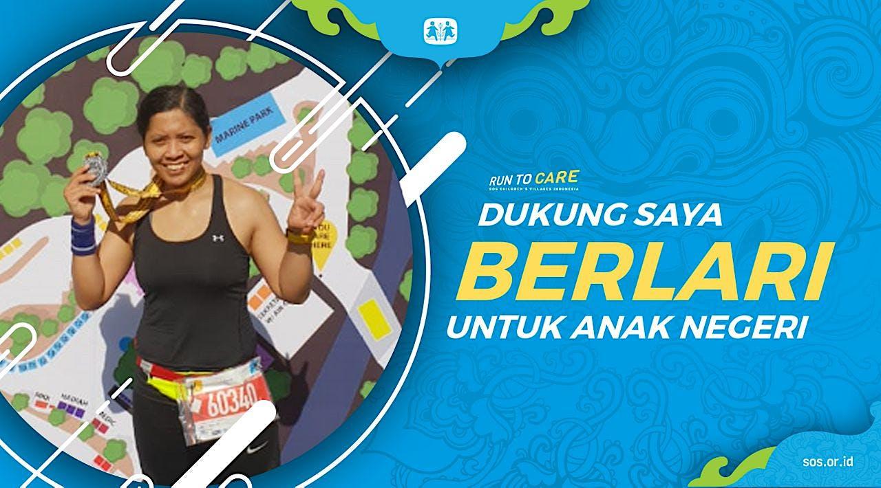 Ida Berlari 150KM untuk Mimpi Anak Indonesia