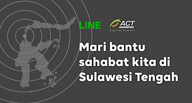 LINE Indonesia untuk Sulawesi Tengah