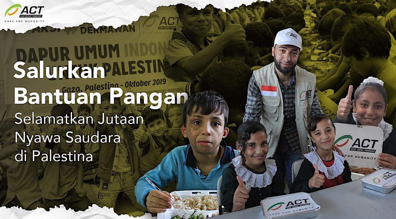Selamatkan Anak-Anak Gaza dari Kelaparan