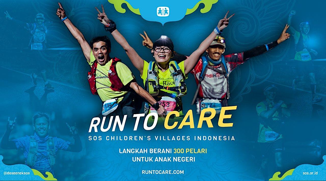 Beach Runwalk berlari 150KM untuk Anak Indonesia