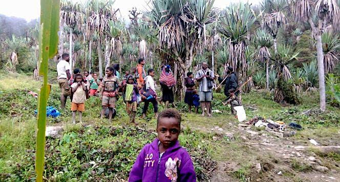 Solidaritas Bantu Pengungsi Nduga Papua
