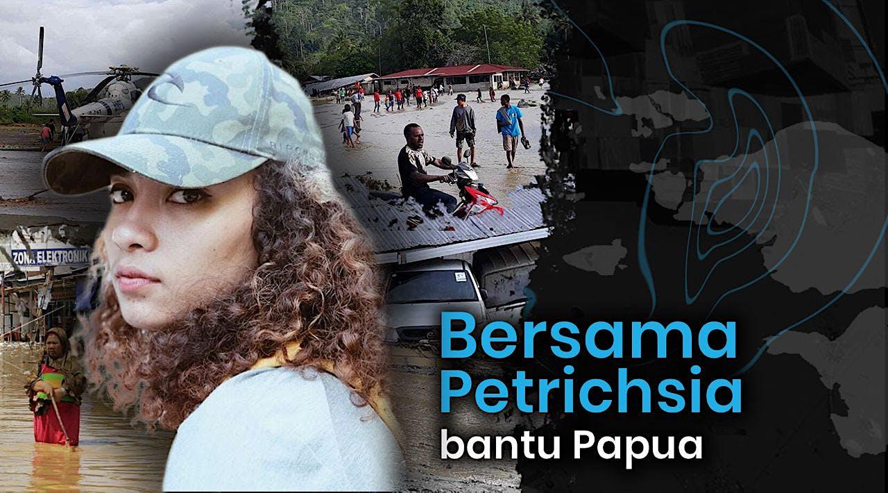 Kontribusi Bareng Petrichsia Bantu Papua