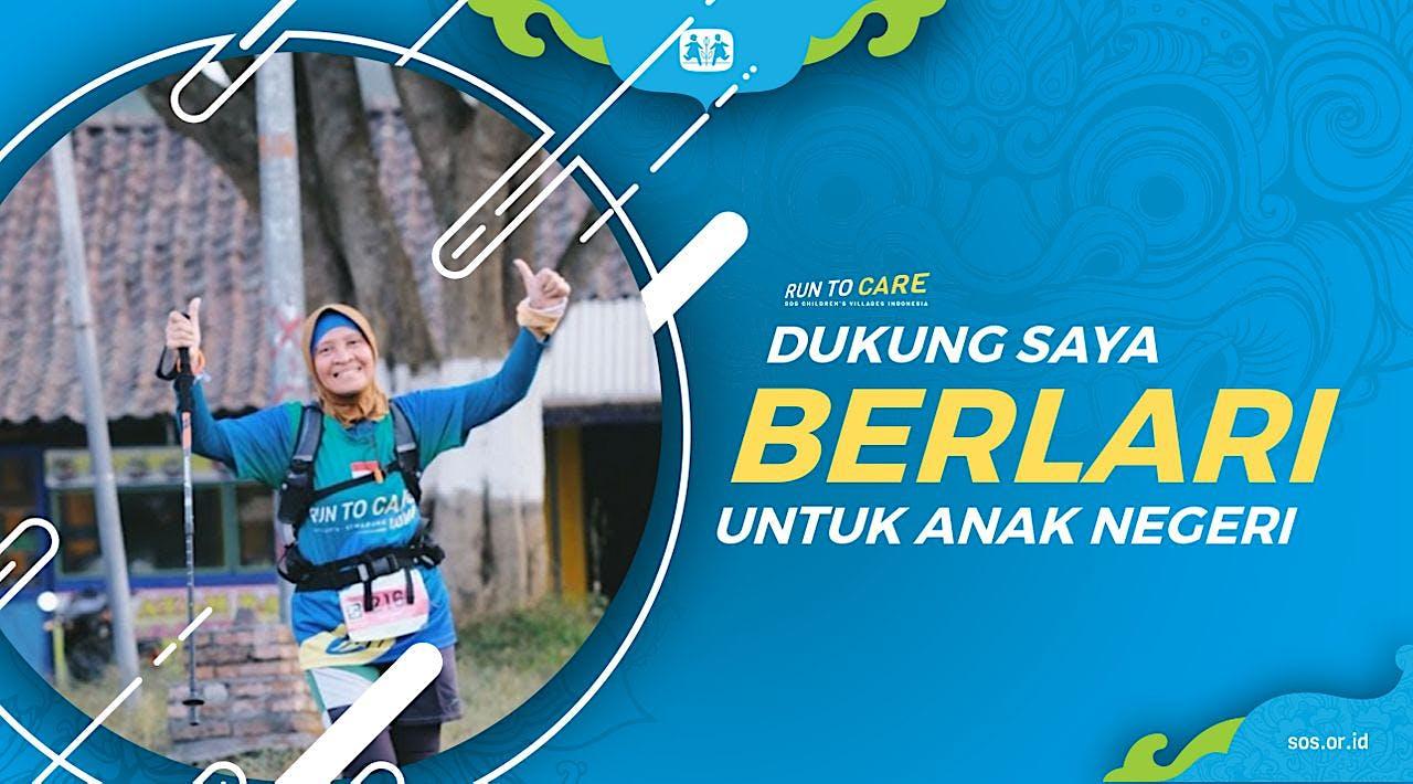 Ruby T berlari 150KM untuk Mimpi Anak Indonesia