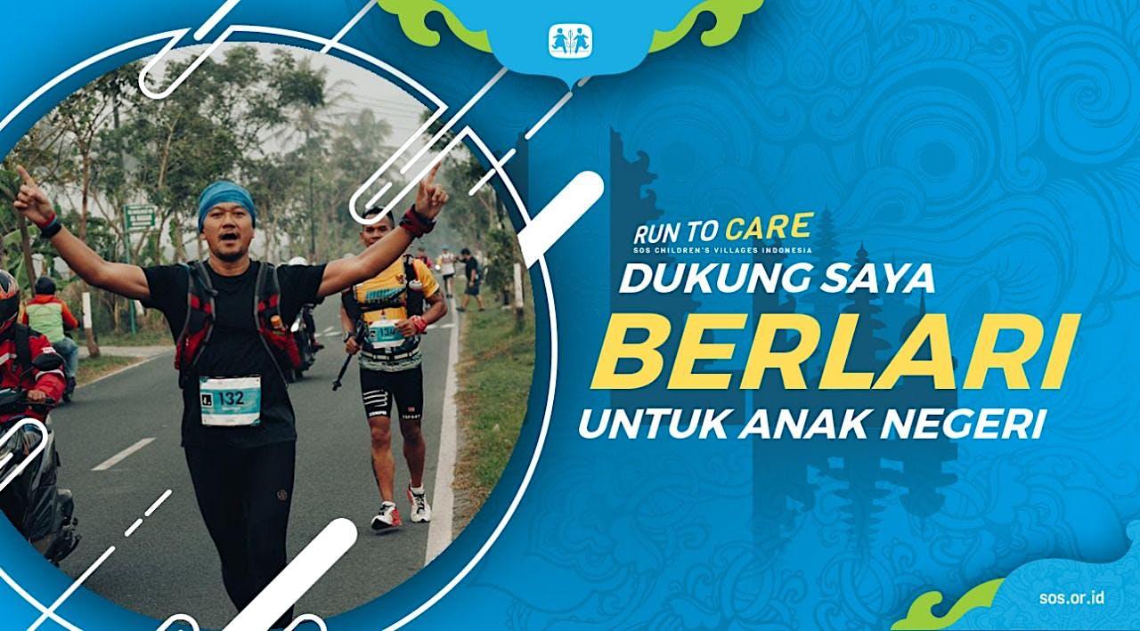 Nicky berlari 150KM untuk Mimpi Anak Indonesia