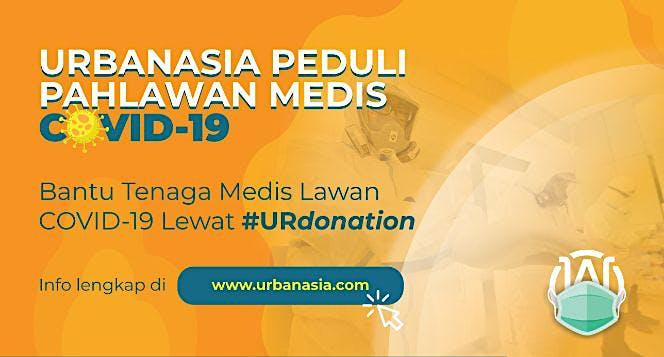Bantu Tenaga Medis Lawan Covid-19 #URdonation