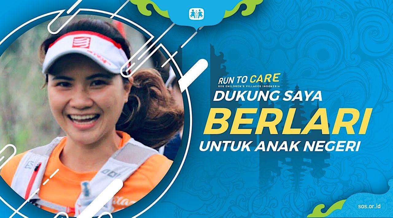 Melinda berlari 150KM untuk Mimpi Anak Indonesia