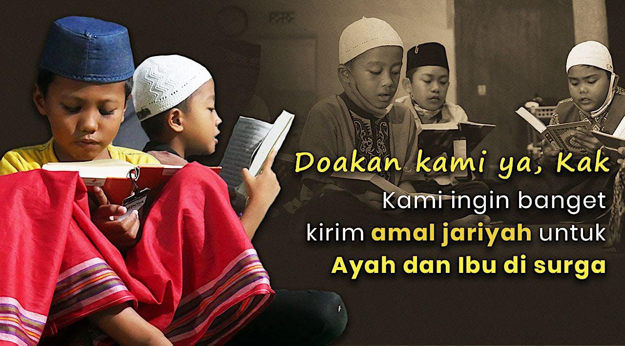Wujudkan Mimpi 5 Yatim Penghafal Quran