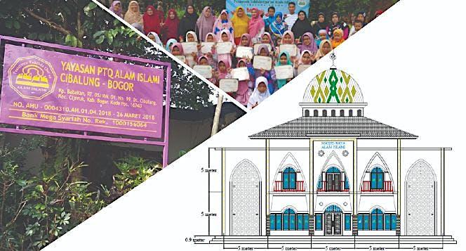 Pembangunan Masjid Raya Alam Islami