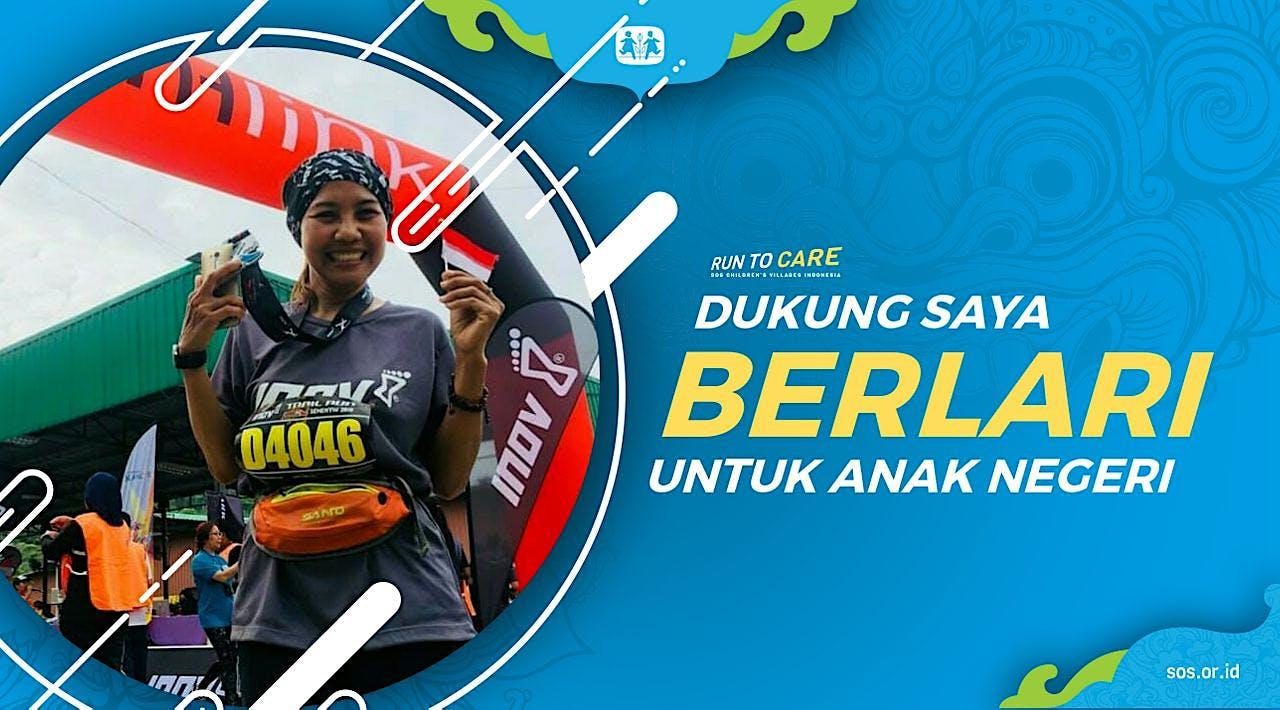 Endah berlari 150KM untuk Mimpi Anak Indonesia