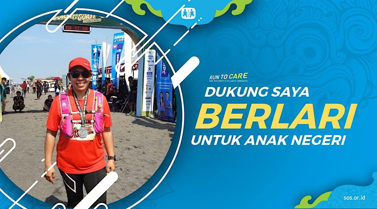 Ari berlari 150KM untuk Mimpi Anak Indonesia