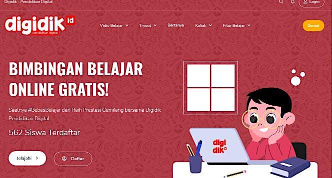 Bimbel Online Gratis untuk Pelajar Indonesia