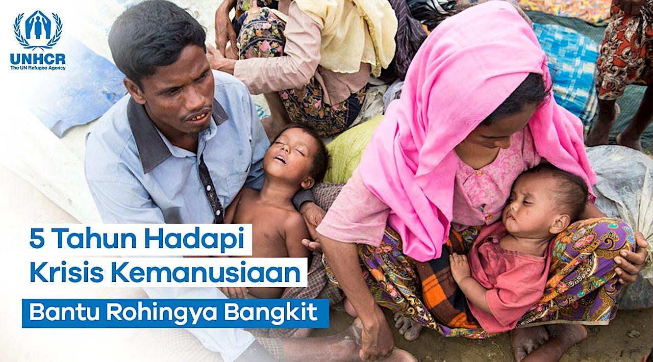Sedekah Ramadan, Selamatkan Pengungsi Rohingya