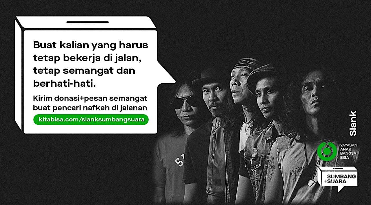 Sumbang+Suara Untuk Pahlawan Jalanan Bareng Slank