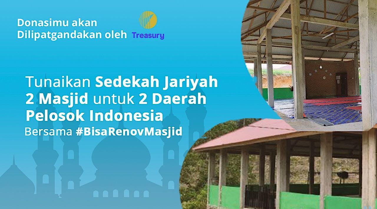 Lanjut Revitalisasi Masjid bersama Treasury