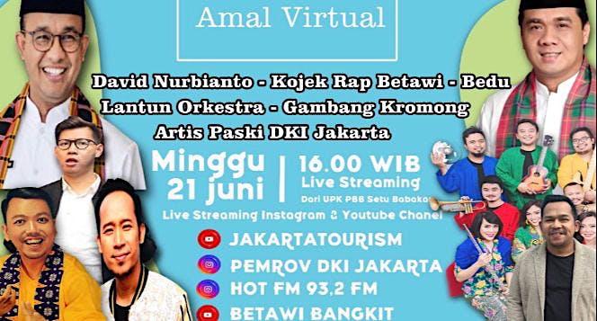 Bantu Seniman di hari Ulang Tahun Jakarta
