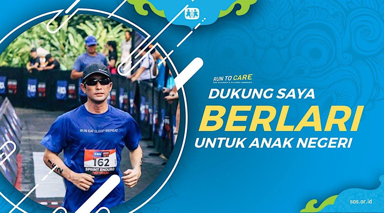 Taka berlari 150KM untuk Mimpi Anak Indonesia
