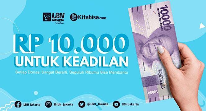 10.000 Rupiah untuk Keadilan