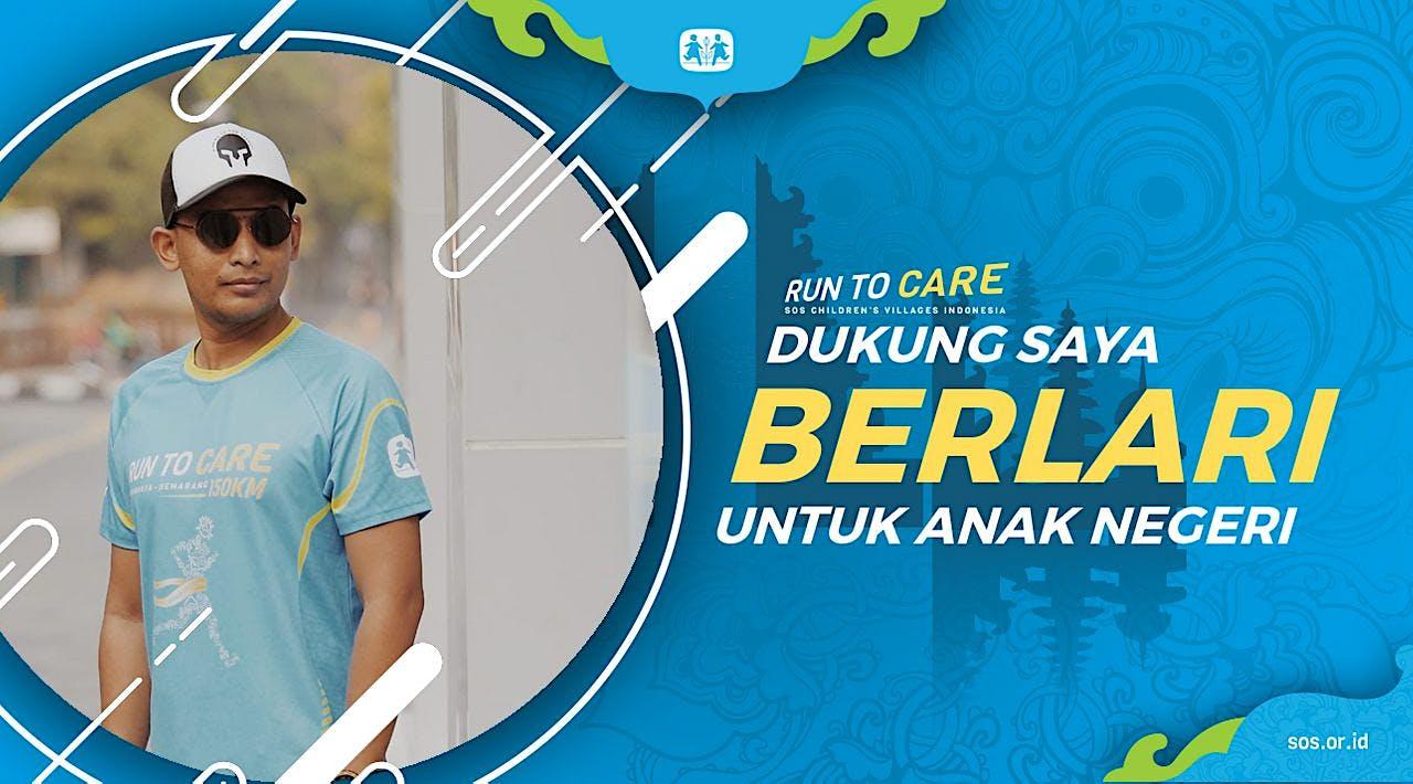 Akhrie berlari 150KM untuk Mimpi Anak Indonesia
