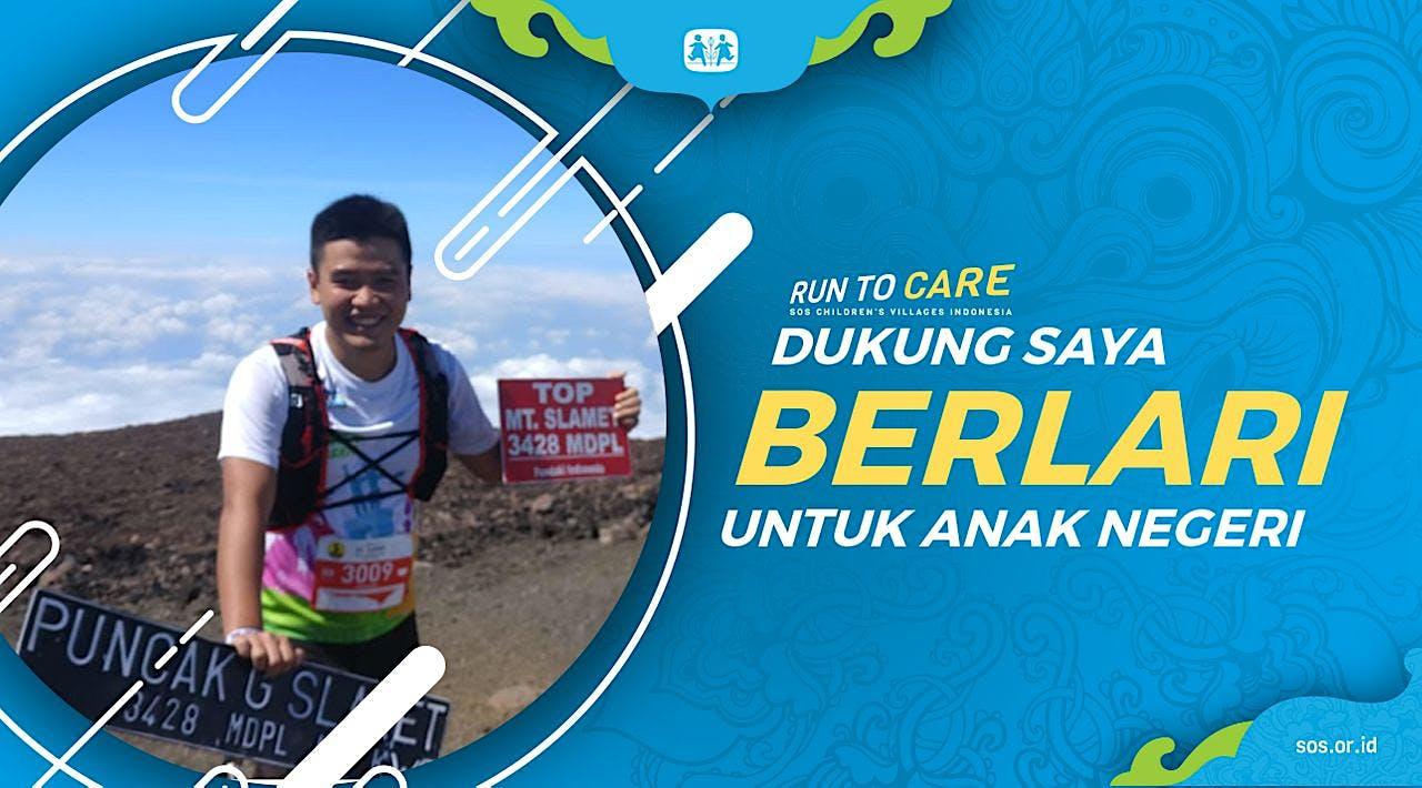 Yanuar berlari 150KM untuk Mimpi Anak Indonesia