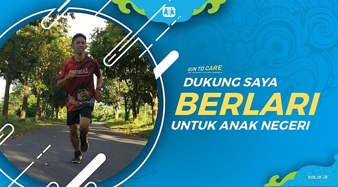 Dana Berlari 150KM untuk Mimpi Anak Indonesia