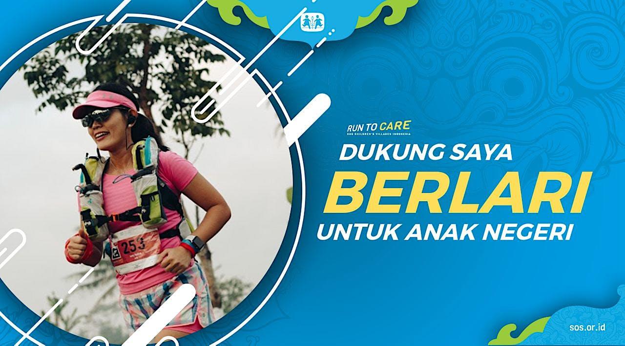 Anty berlari 150KM untuk Mimpi Anak Indonesia