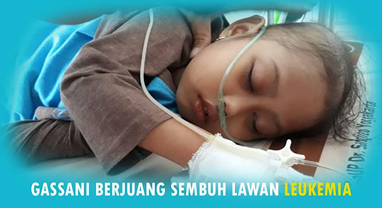 Bantu Gassani Melawan Kanker Leukimia