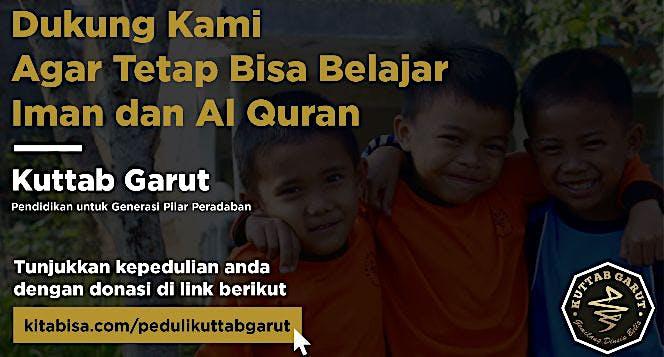 Dukung Kami agar tetap Bisa Belajar Iman dan Al Qu